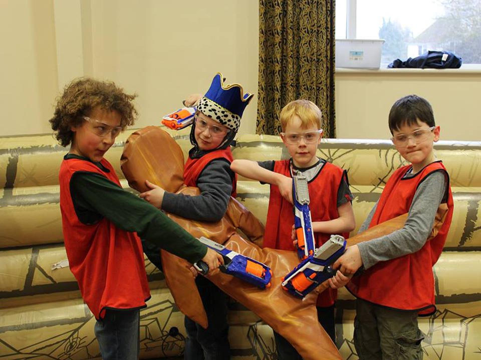 Nerf Wars Party