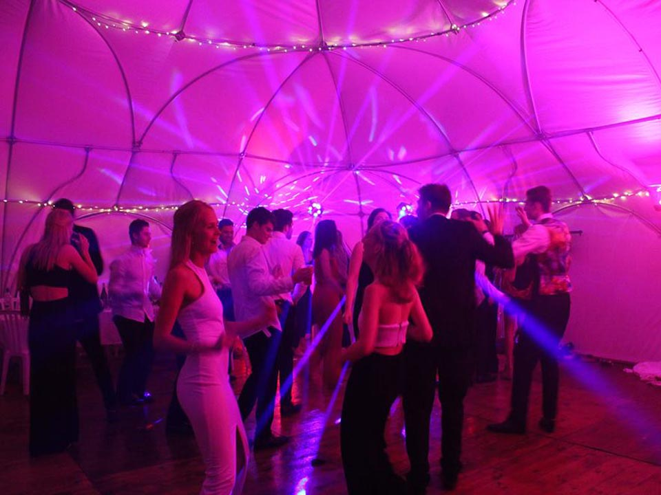 Disco Newbury Berkshire Wedding