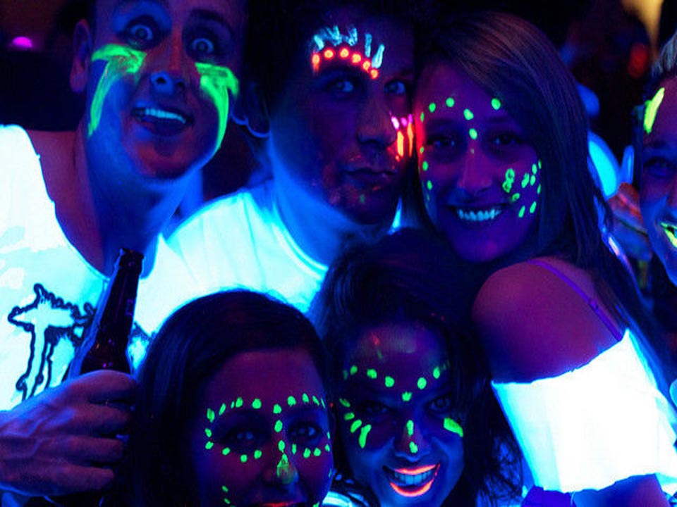 U.V Glow Disco Party Newbury