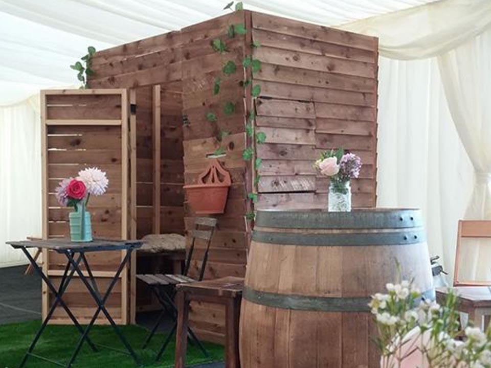 Hire Vintage Shed Photo Booth