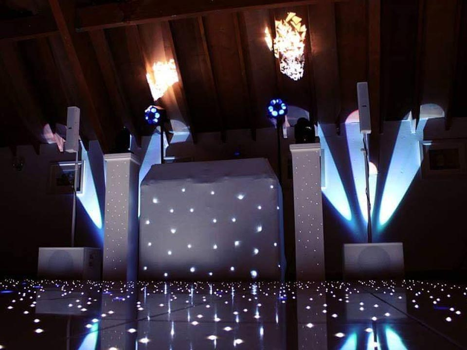 Disco Newbury Berkshire Wedding